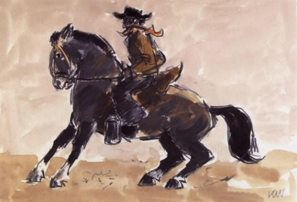 by Sir Kyffin Williams, National Library of Wales
